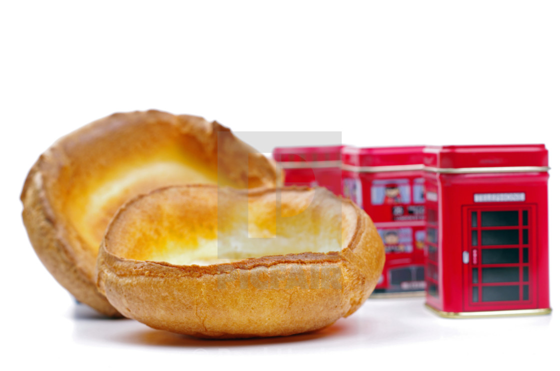 """english yorkshire puddings"" stock image"