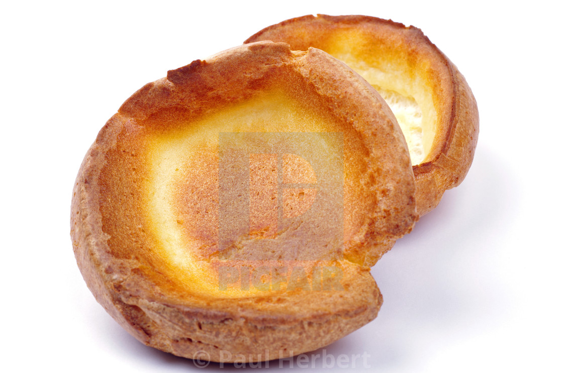 """two yorkshire puddings"" stock image"