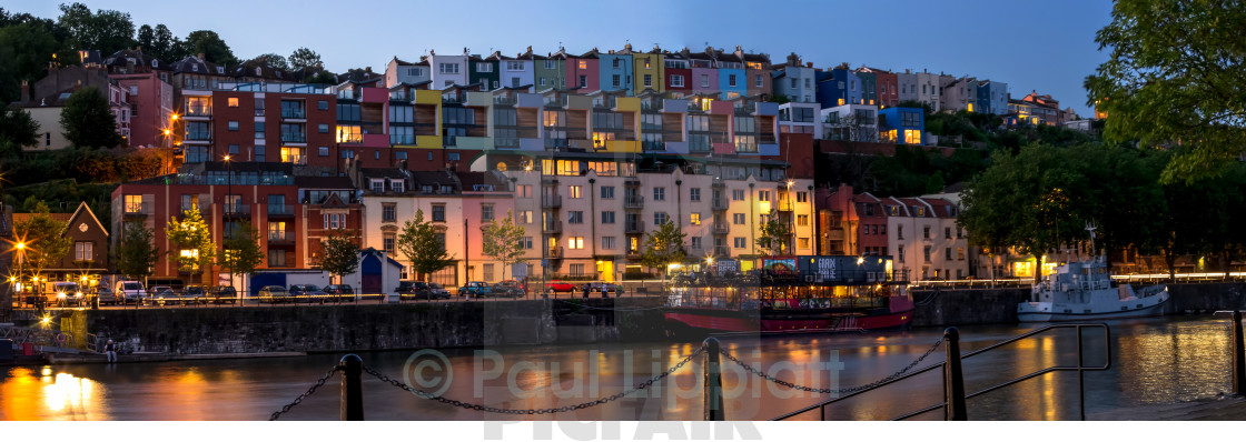 """Bristol Harbourside"" stock image"