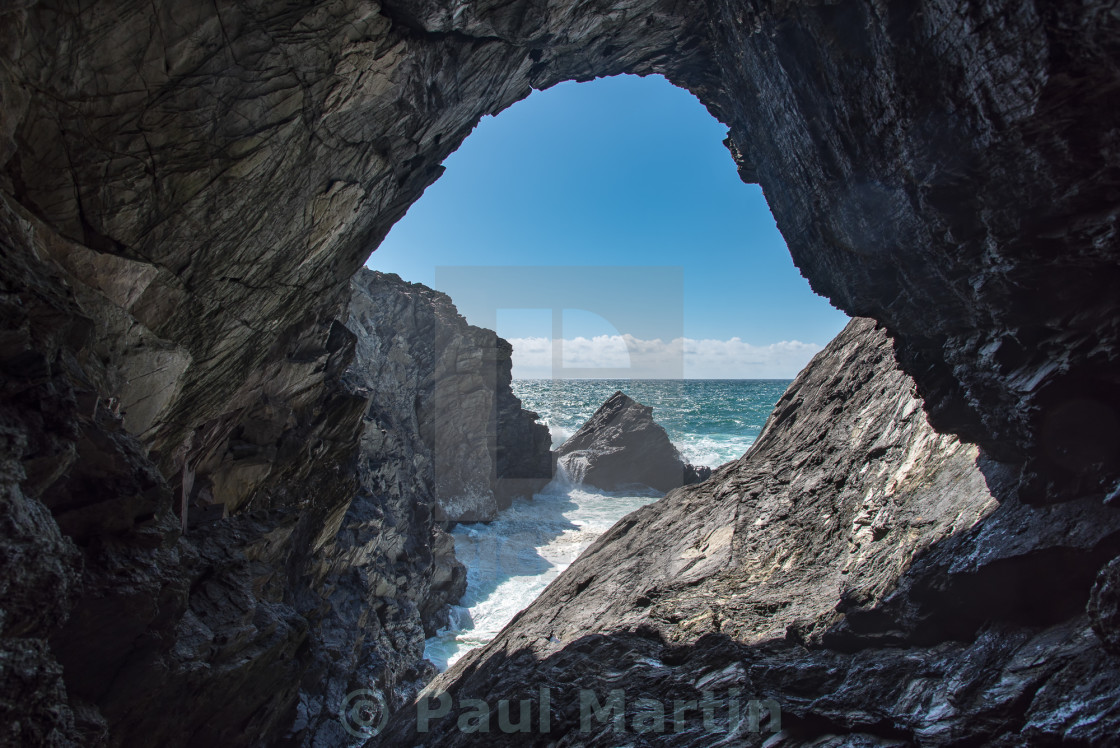 """Sea Cave"" stock image"