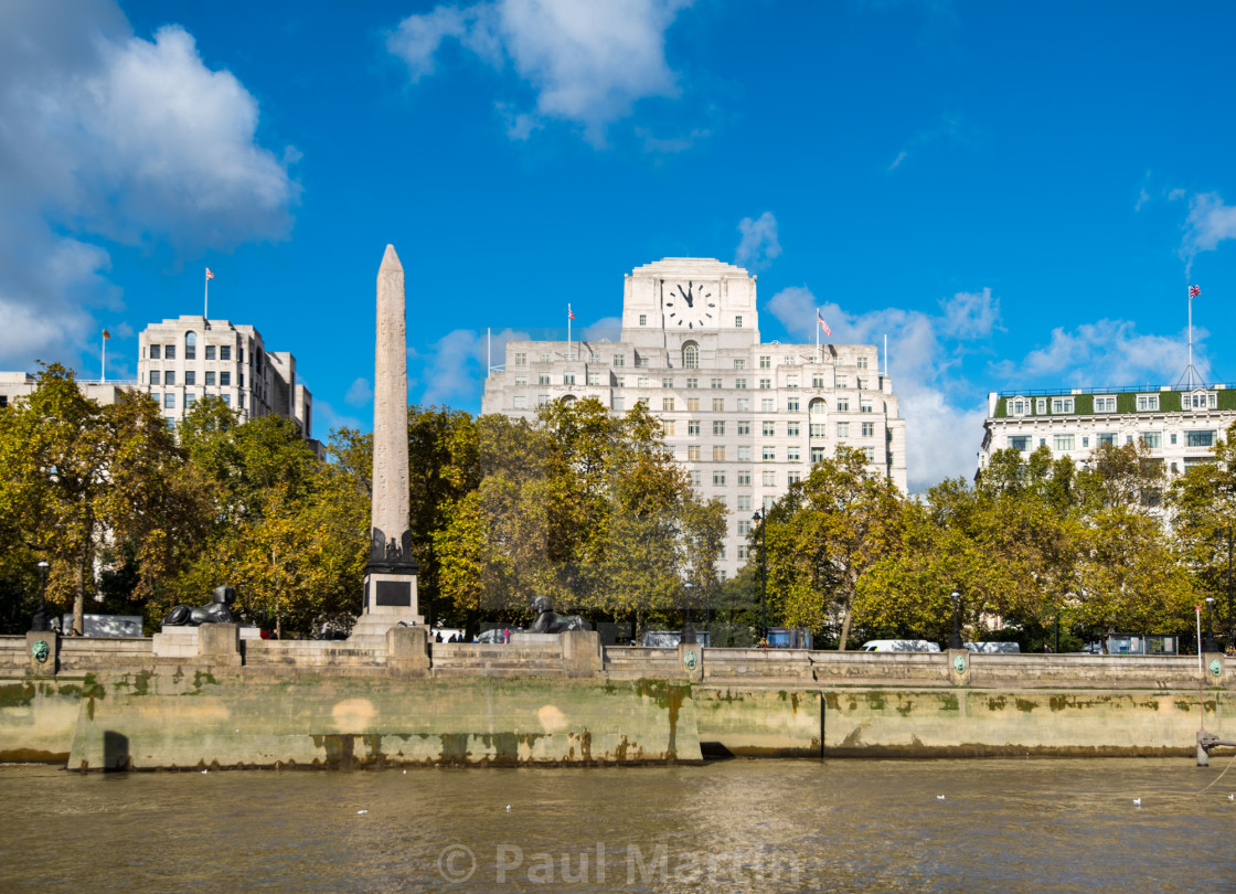 """Cleopatra's Needle"" stock image"
