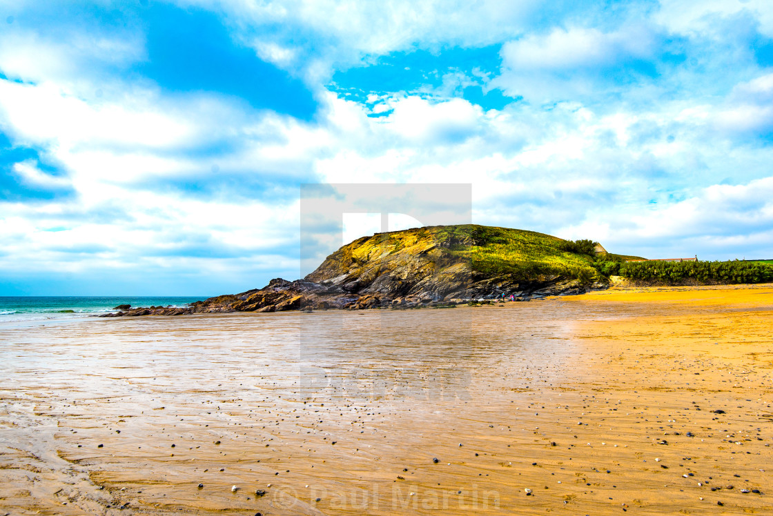 """Church Cove, Gunwalloe."" stock image"