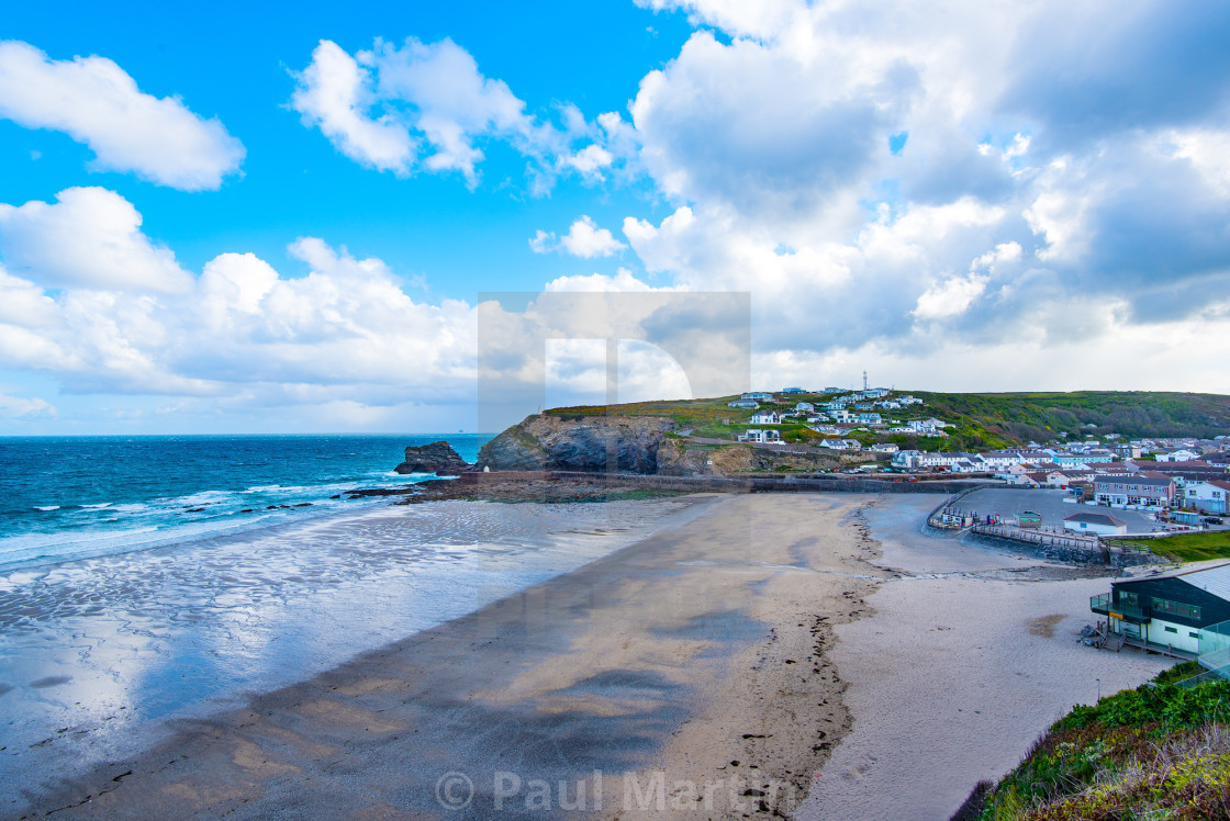 """Portreath."" stock image"
