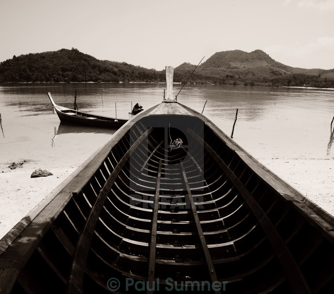 """Wooden Boat"" stock image"