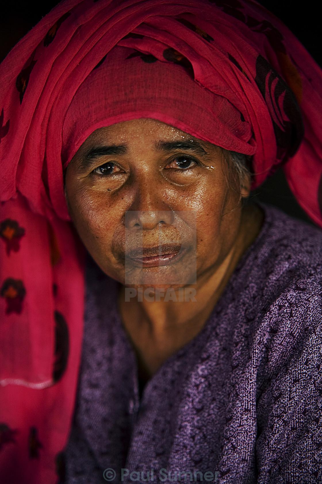 """Village Woman"" stock image"