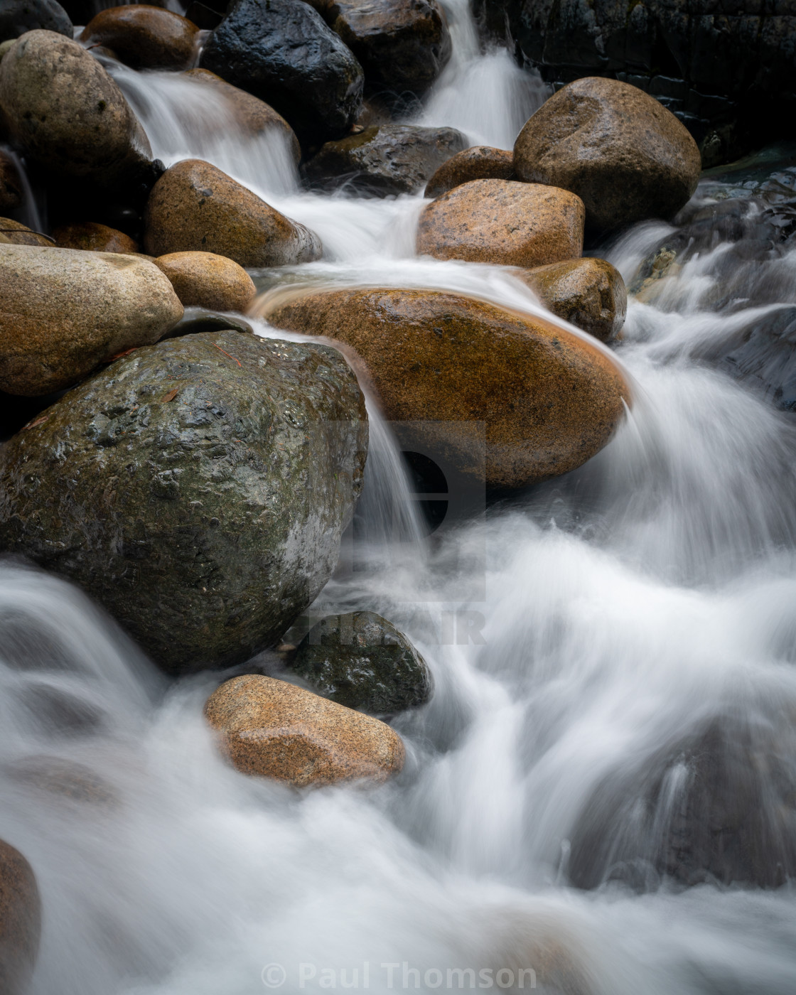 """Water Flow"" stock image"