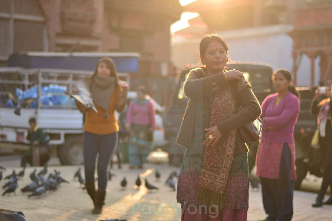 """Durbar Afternoon"" stock image"