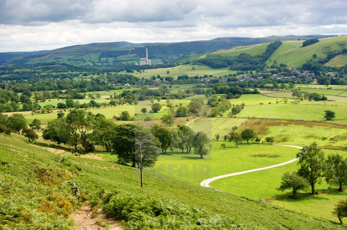 """The English Peak District."" stock image"