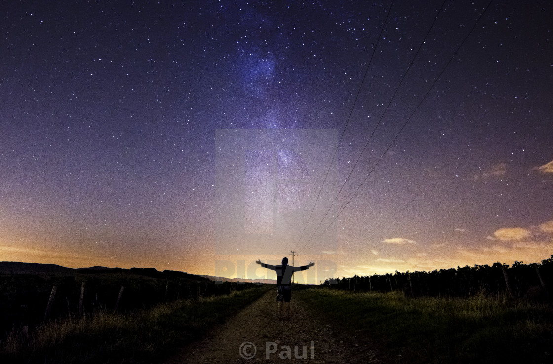 """Path to the Milky Way"" stock image"