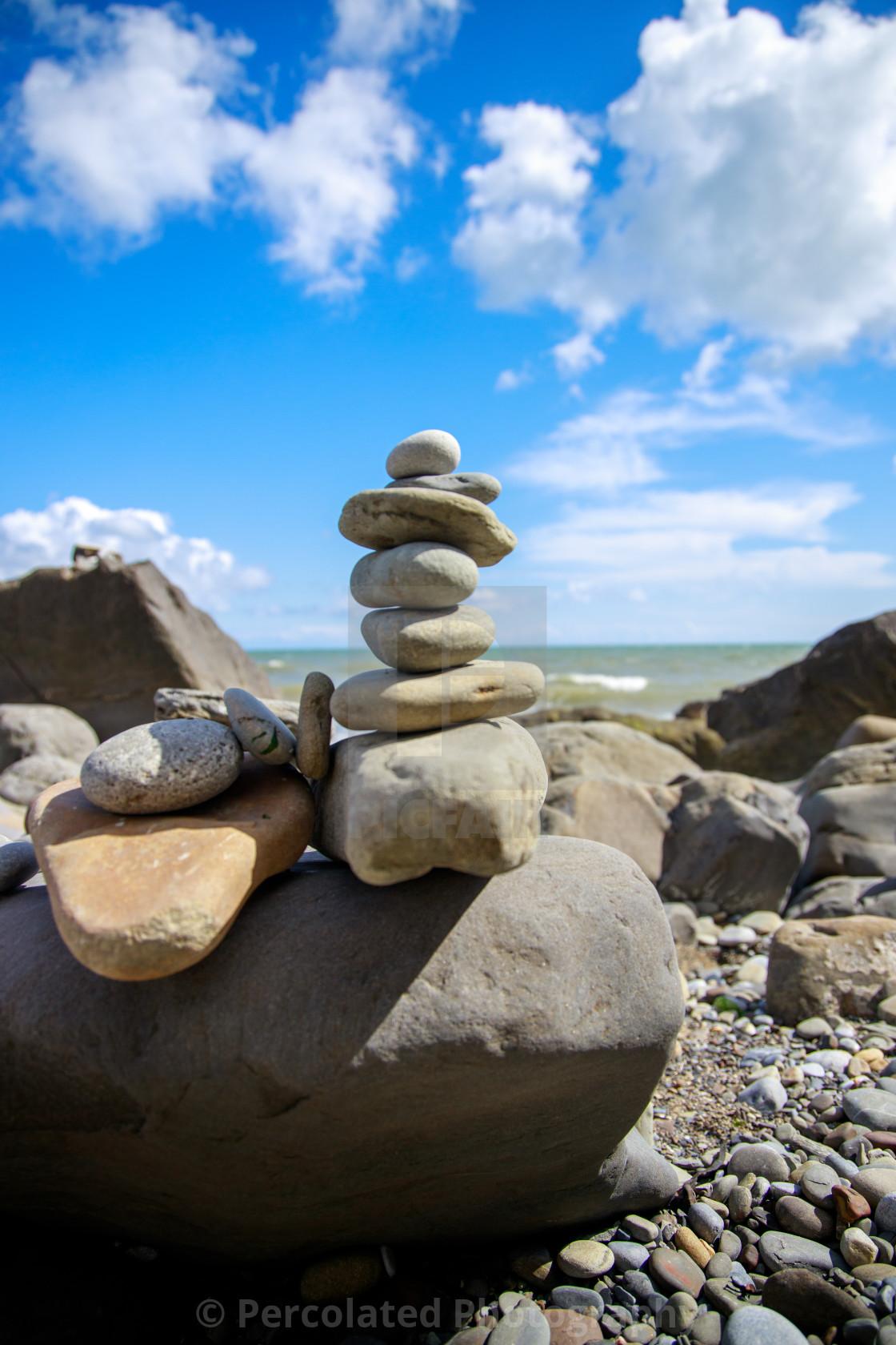 """Rock Balancing"" stock image"