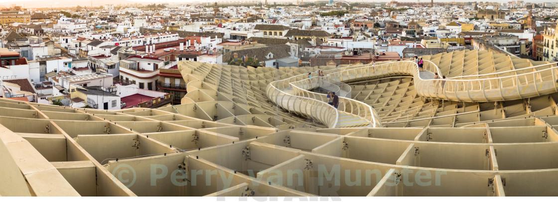 """Metropol Parasol Seville"" stock image"