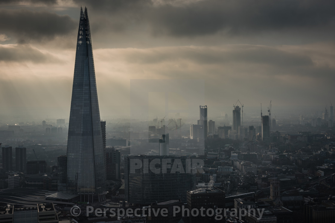 """London ft. The Shard"" stock image"