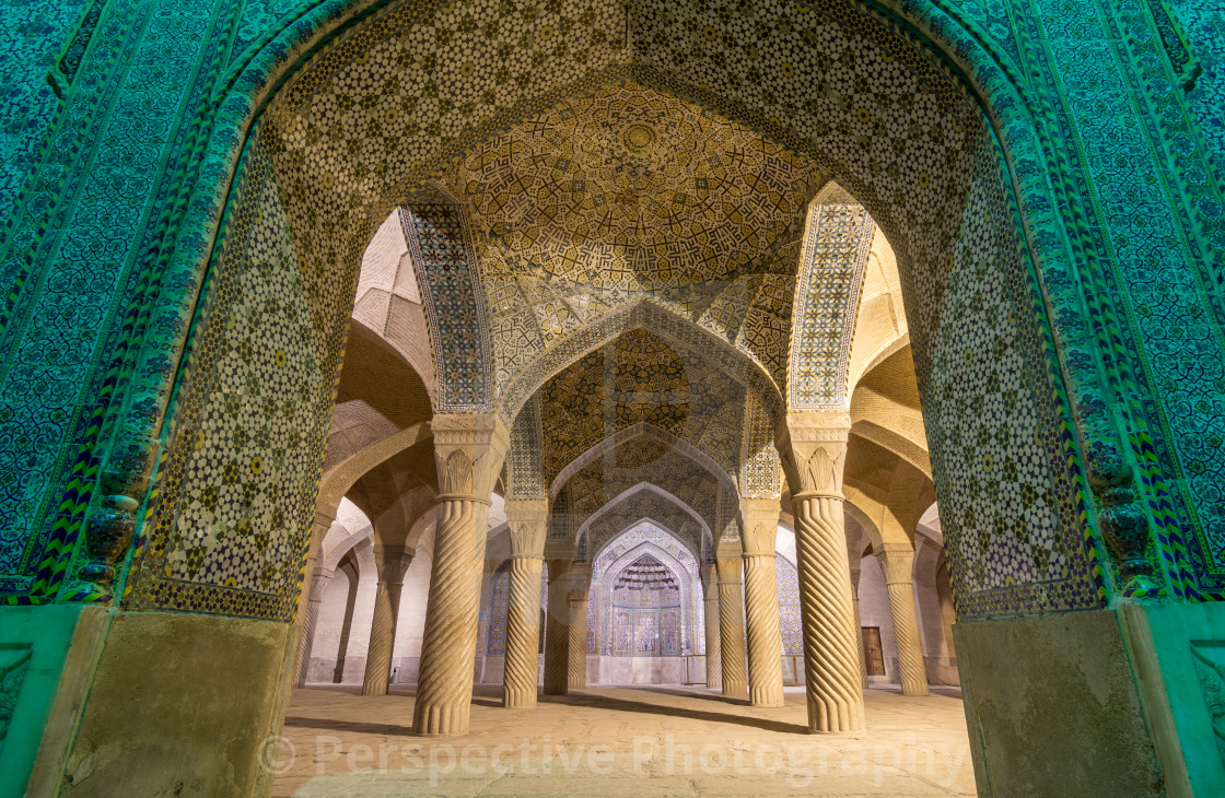 """Vakil Mosque - Shiraz"" stock image"