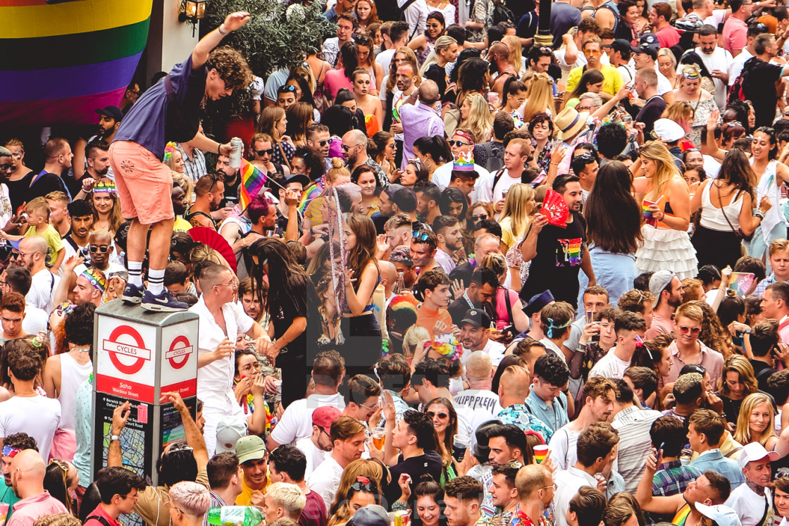 """Gay Pride London"" stock image"