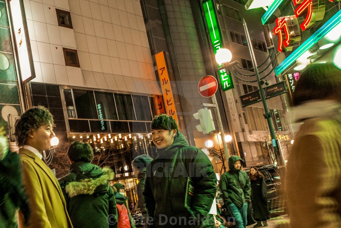 """Sapporo"" stock image"