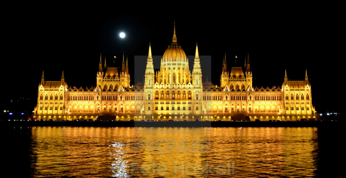 """The Houses of Hungarian Parliament"" stock image"
