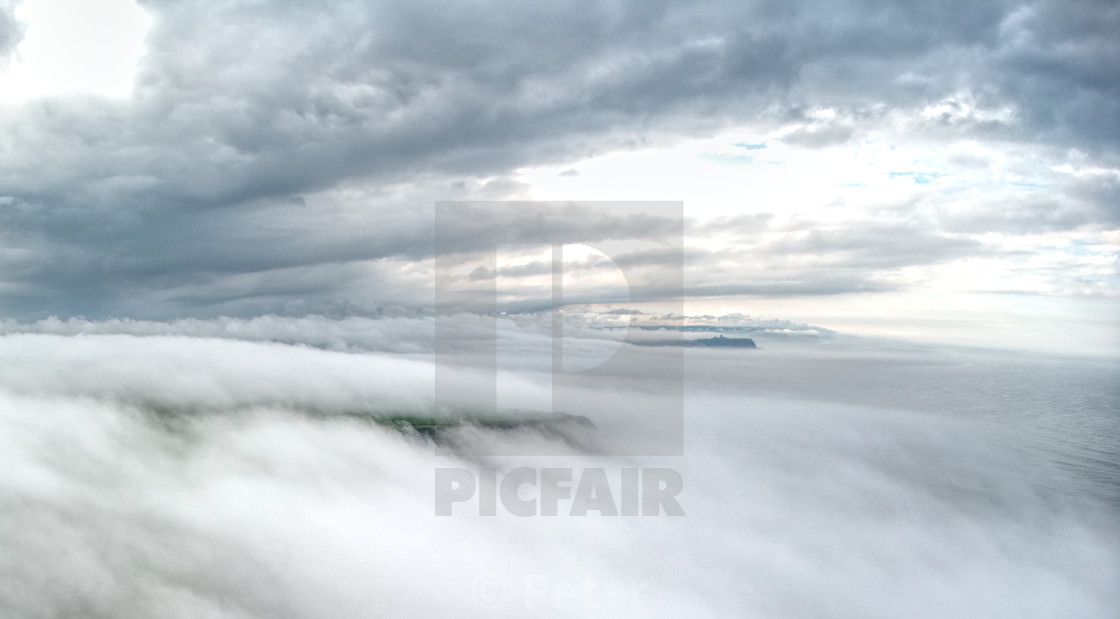 Above the clouds with a Drone - License, download or print for £2 48