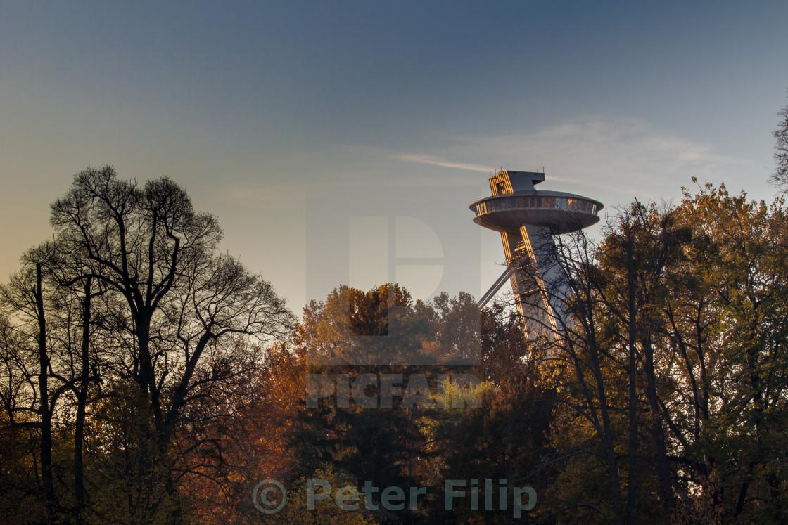 """""""UFO in Bratislava"""" stock image"""