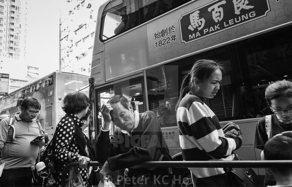 """""""Anxiety, Depression and Stress: Hong Kong"""" stock image"""