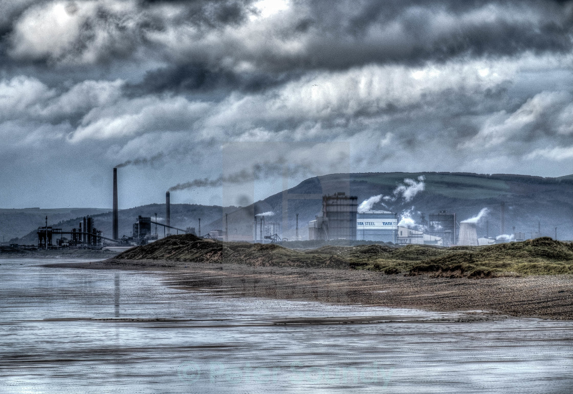 """Good Morning Port Talbot"" stock image"