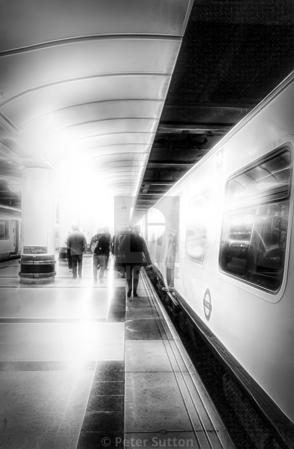 """Commuting"" stock image"