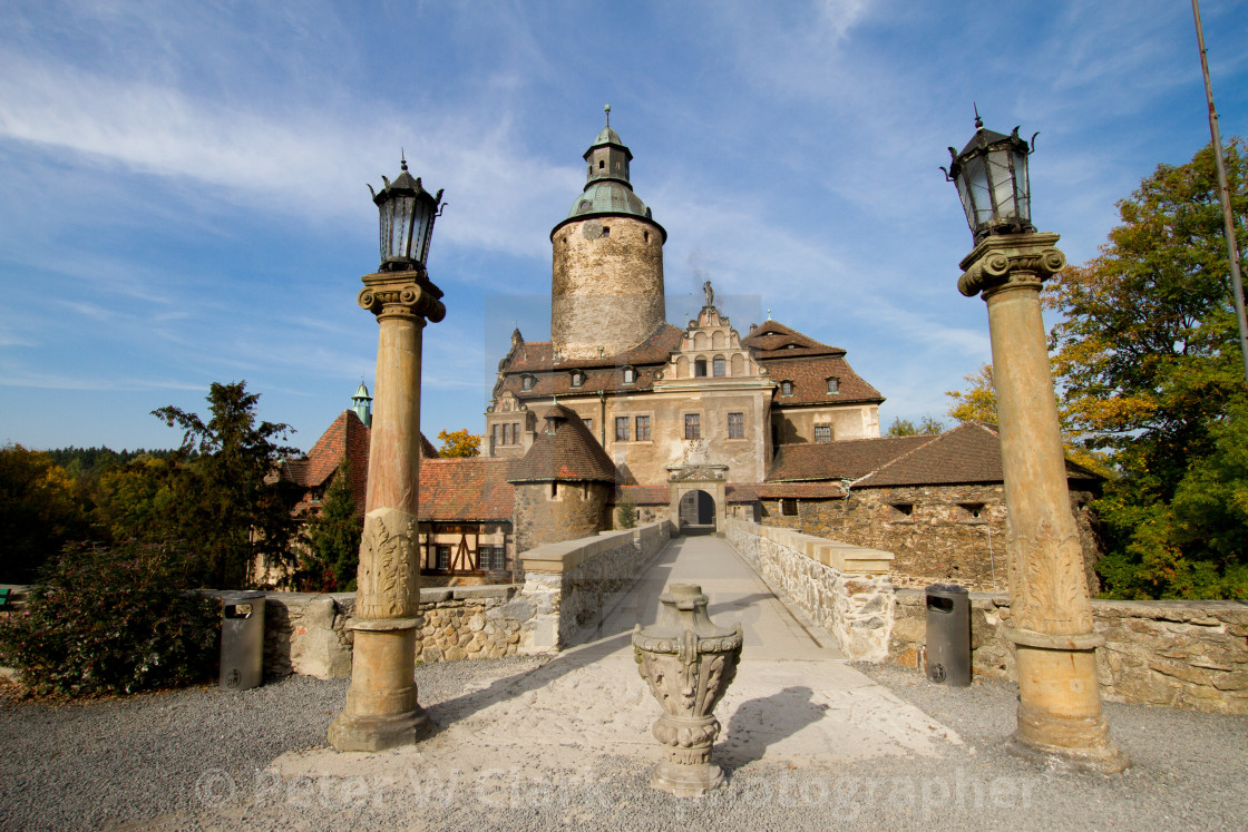 """Czocha Castle, Lower Silesia, Poland"" stock image"