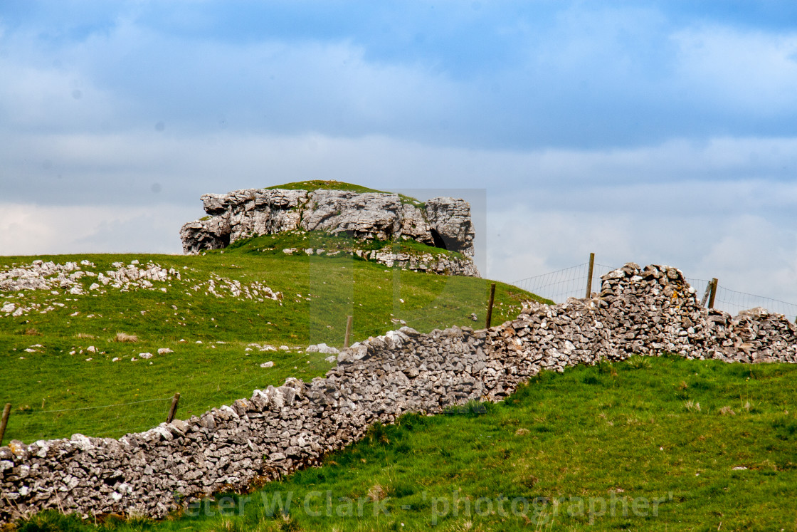 """""""Conistone Pie in the Yorkshire Dales"""" stock image"""