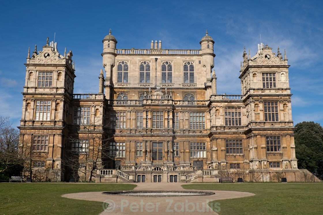 """Wollaton Hall, Nottingham"" stock image"