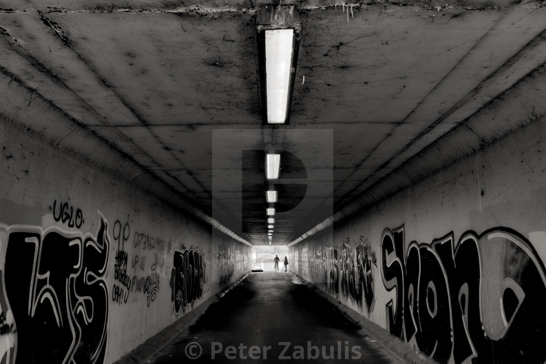 """Urban Tunnel"" stock image"
