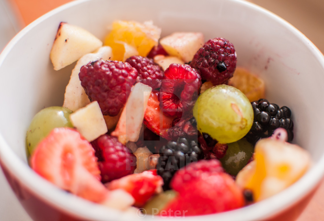 """Fruit Salad 2"" stock image"