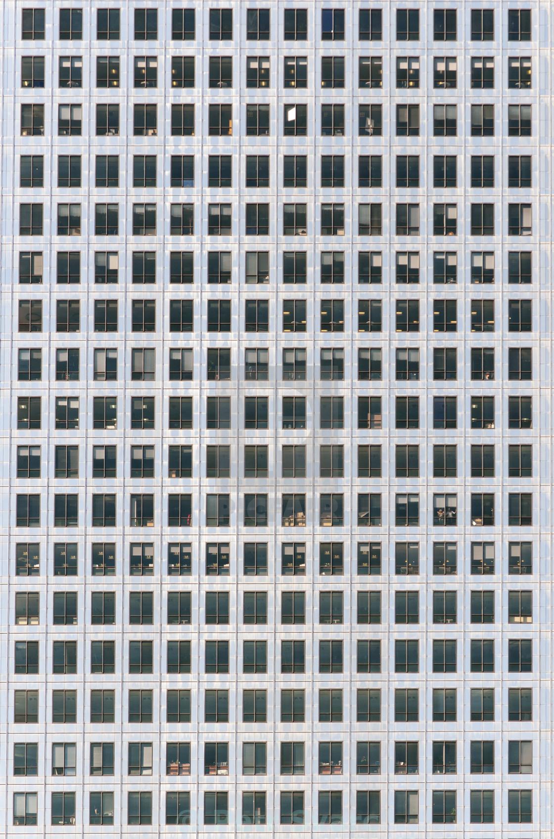 """One Canada Square Skyscraper, Canary Wharf, London"" stock image"
