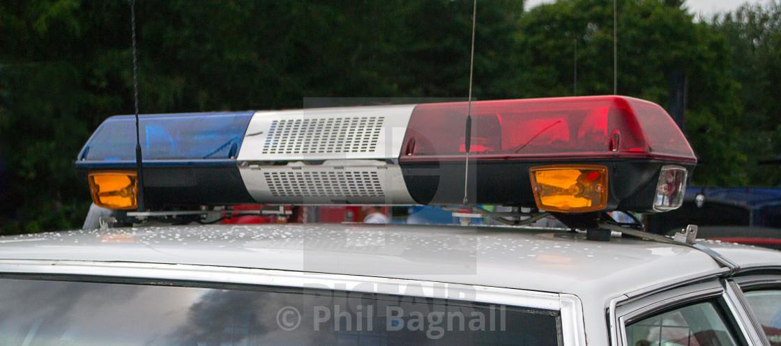 Us Police Vehicle Light Bar License Download Or Print For