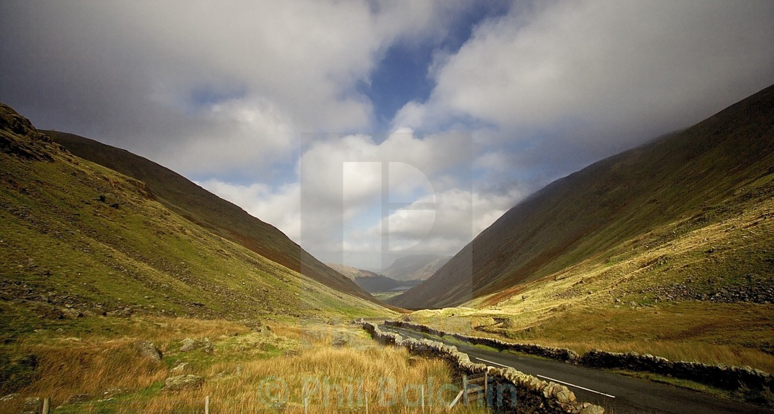 """Kirkstone Pass, Lake district"" stock image"