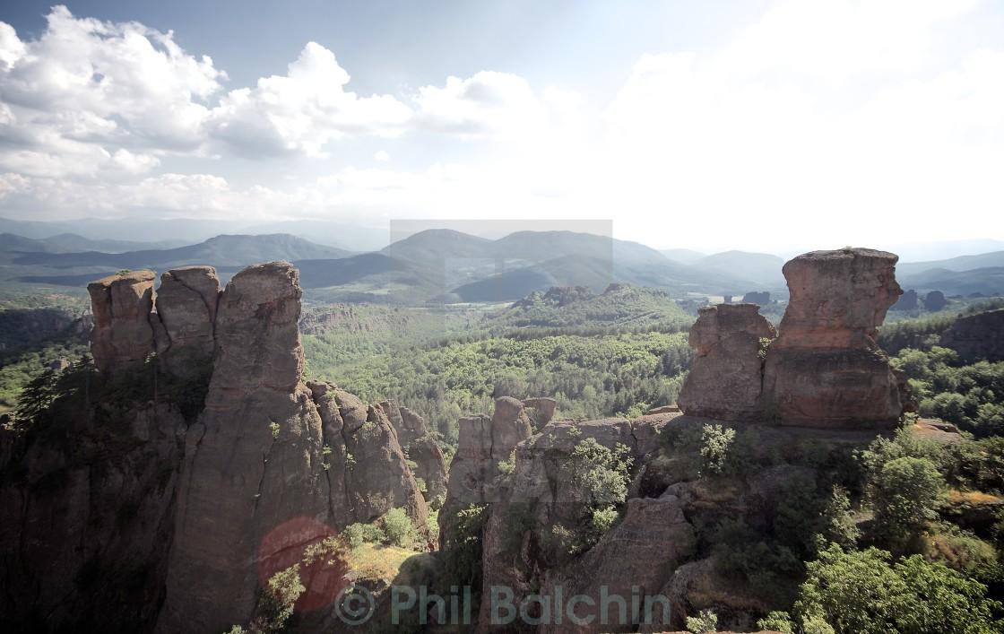 """Belogradchik rocks"" stock image"