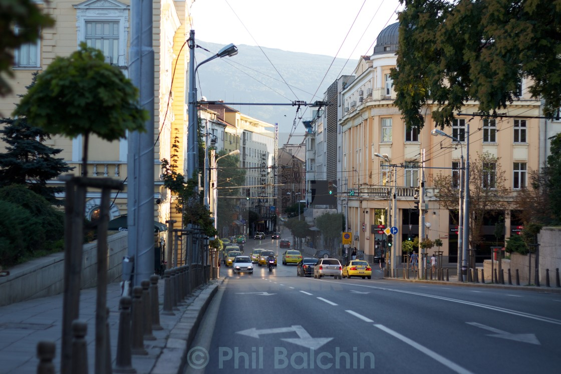 """Downtown Sofia"" stock image"