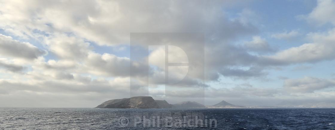 """Distant Islands"" stock image"