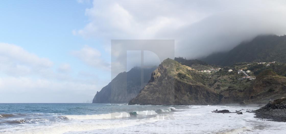 """Island coastline"" stock image"