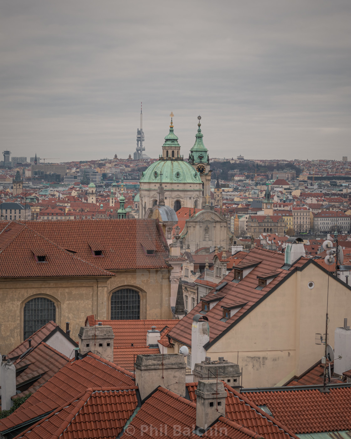"""Prague, Czechia"" stock image"