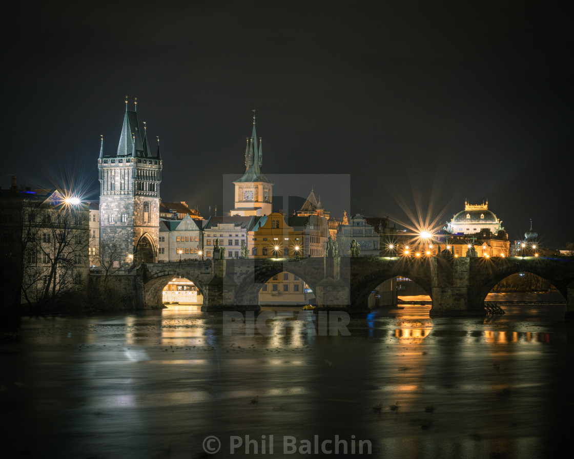 """Charles bridge, Prague, Czechia"" stock image"