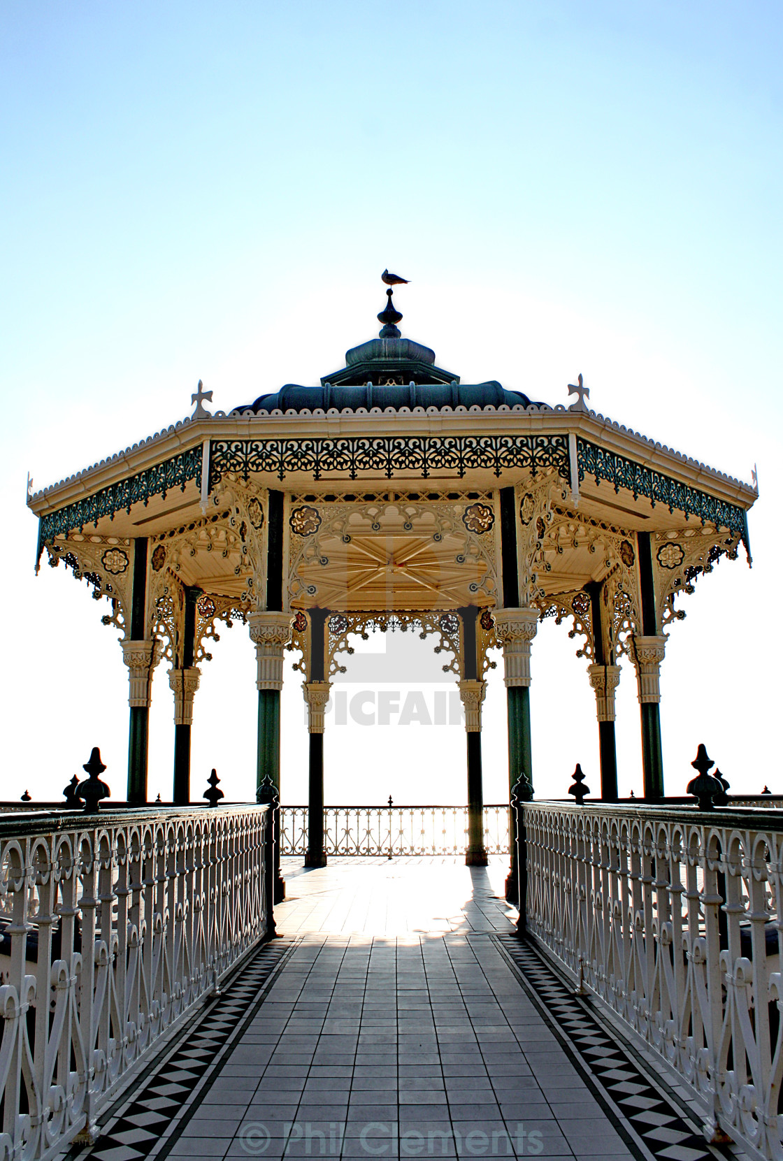 """""""Hove Bandstand"""" stock image"""