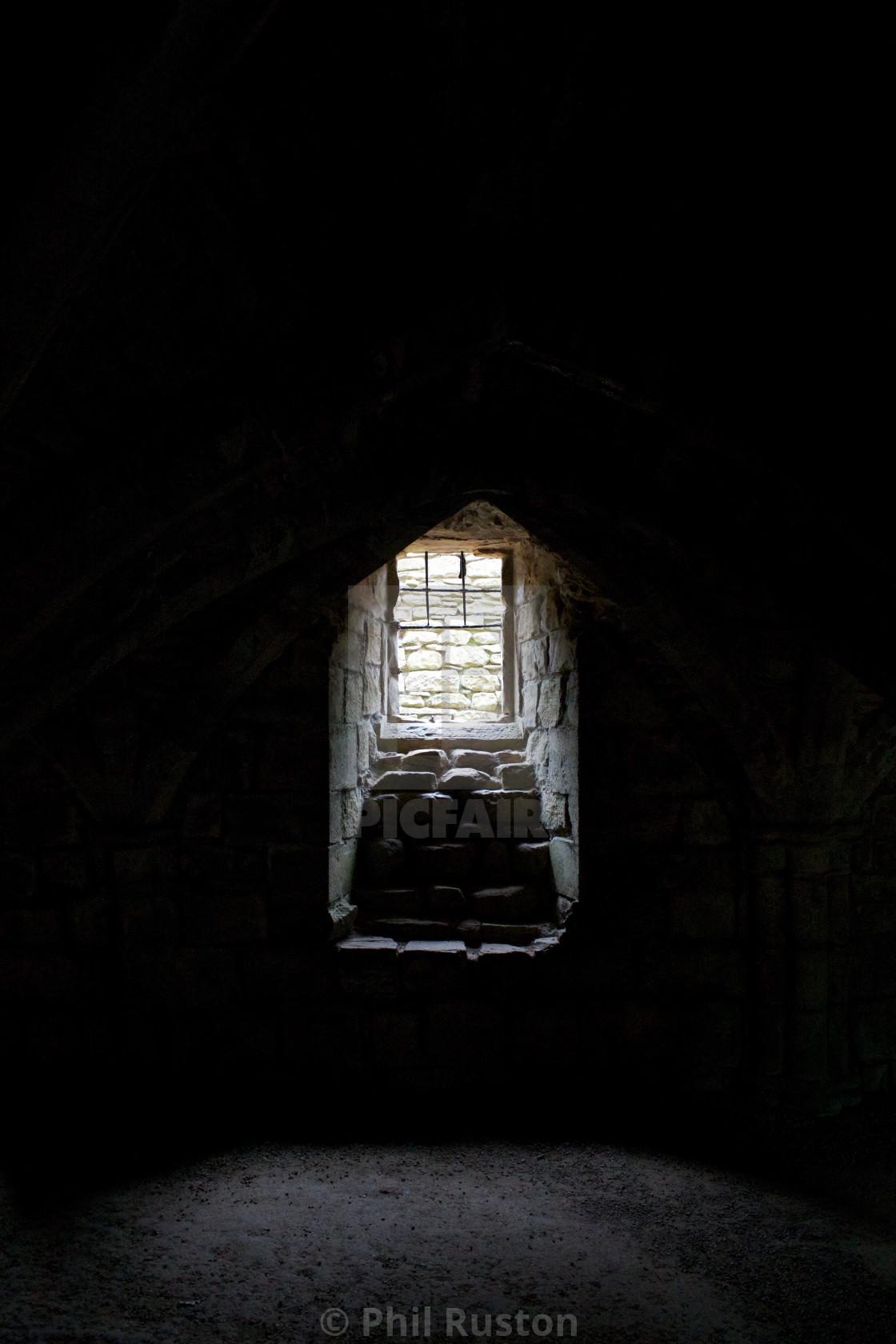 """""""Finchale Window"""" stock image"""