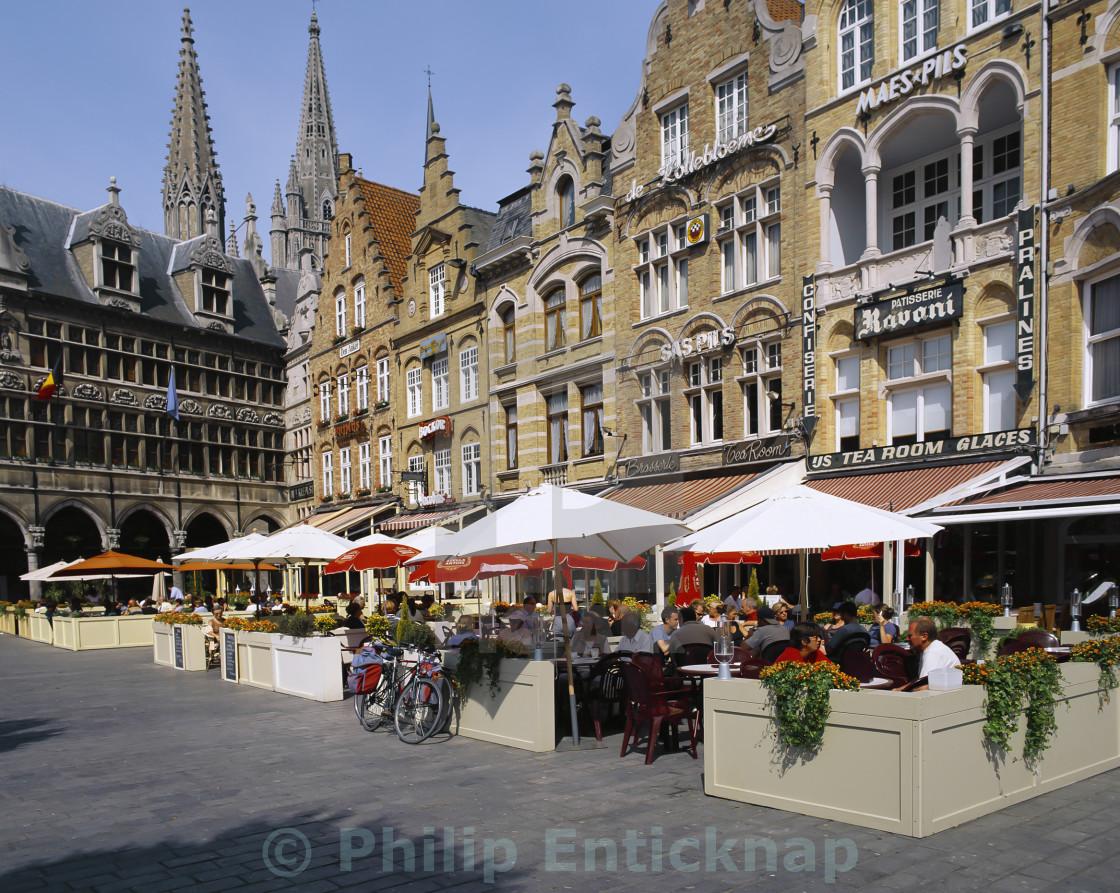 """Ypres Belgium."" stock image"