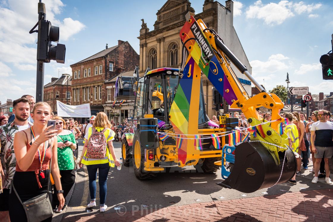 """Pride Celebrations, Leeds"" stock image"