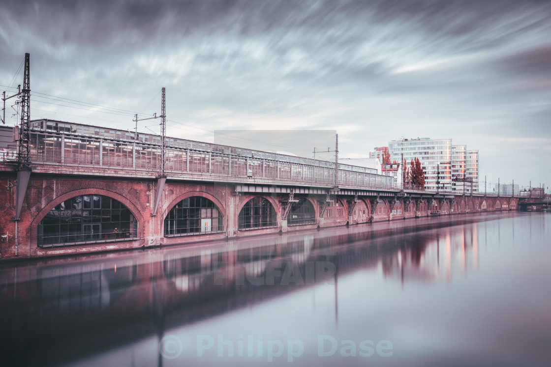 """Jannowitzbridge I Berlin, Germany 2015"" stock image"