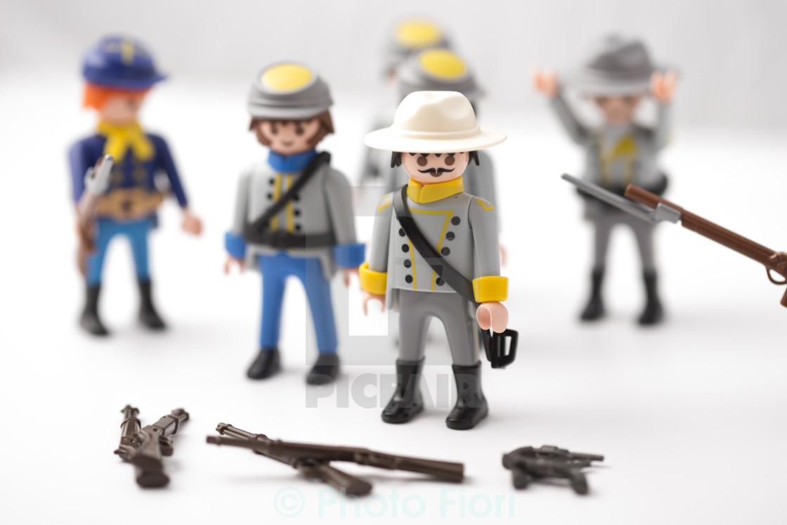 """Confederate General"" stock image"