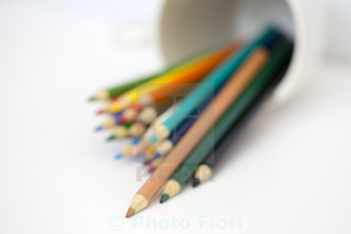 """Colouring Pencils"" stock image"