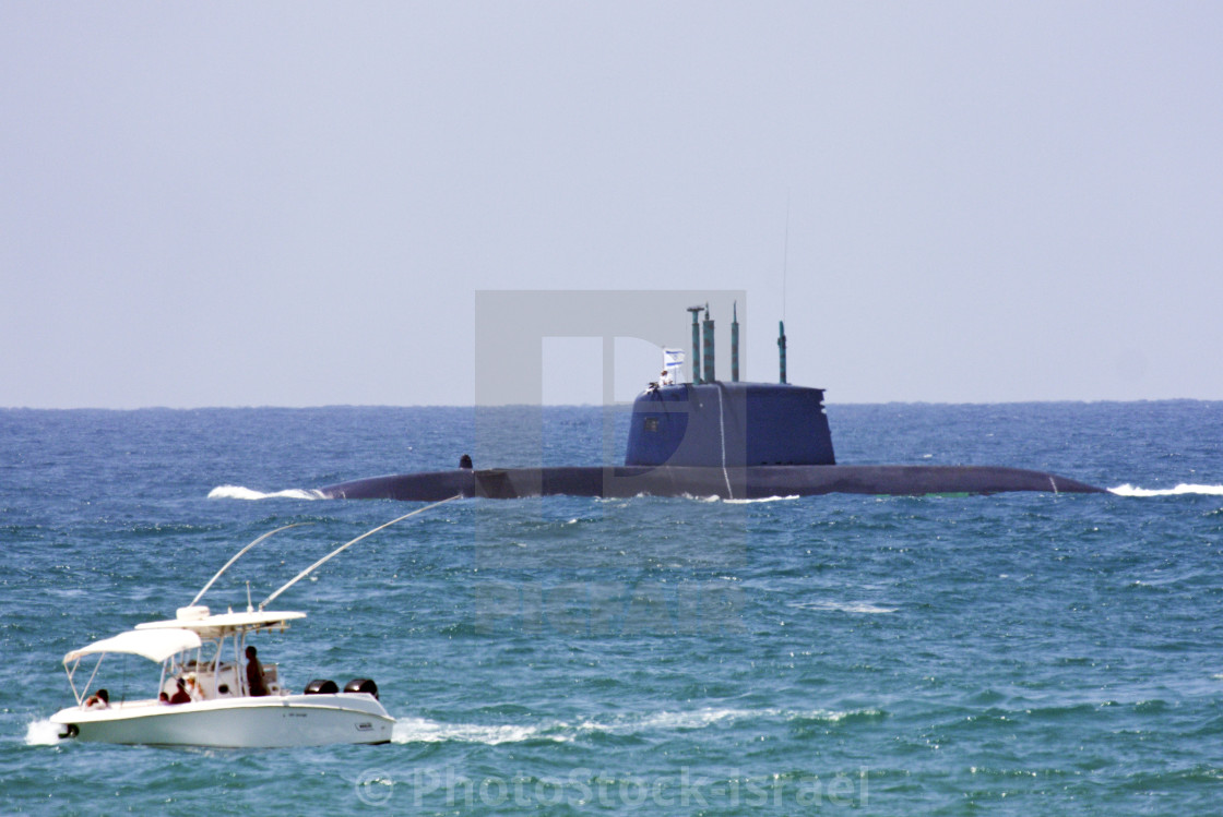 Israeli Navy Dolphin class submarine - License, download or
