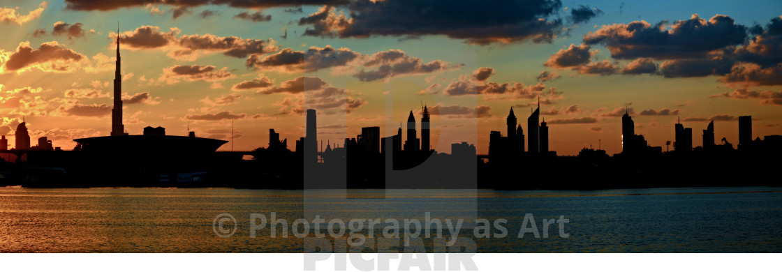"""""""Dubai Skyline"""" stock image"""