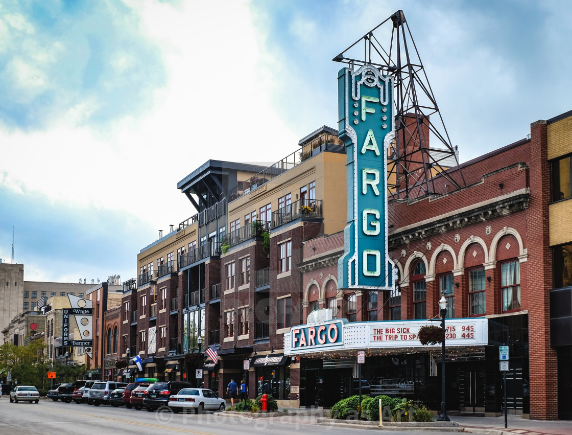 """Fargo"" stock image"
