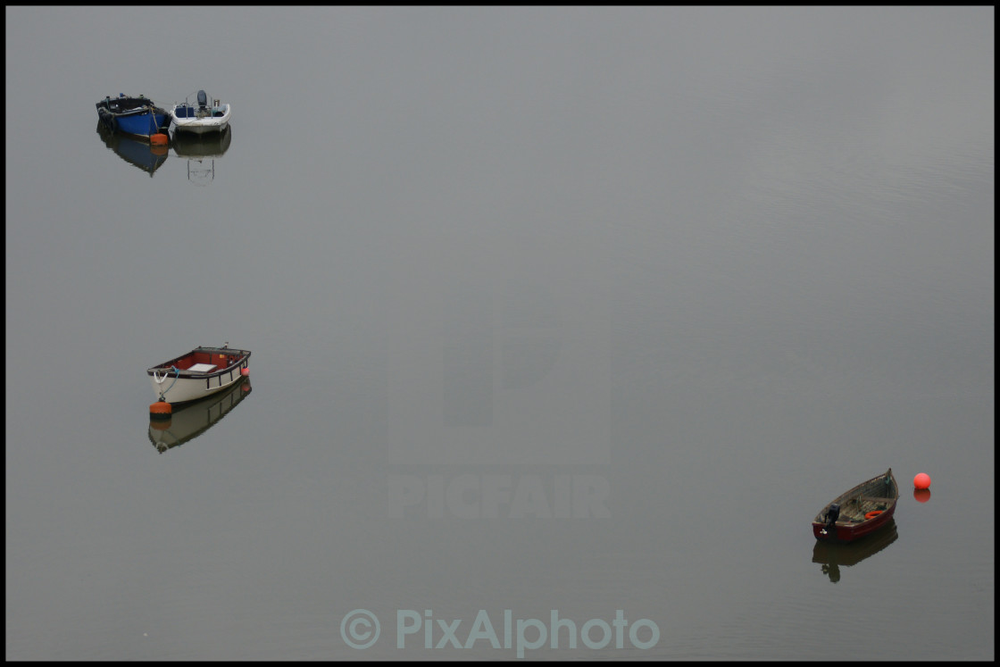 """""""Boats on the Water"""" stock image"""
